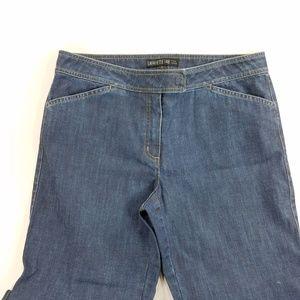 Lafayette 148 New York Denim Jeans Capri Cropped